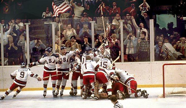 USA Wins Against Soviet Union in Ice Hockey
