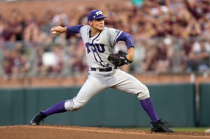 TCU Texas A M Baseball