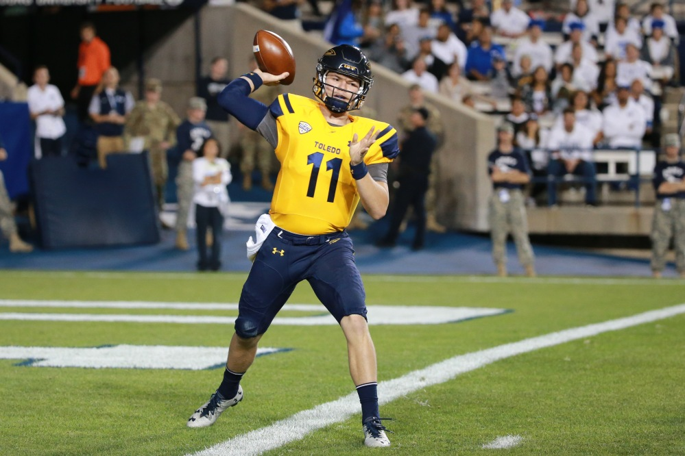 NCAA Football: Toledo at Brigham Young
